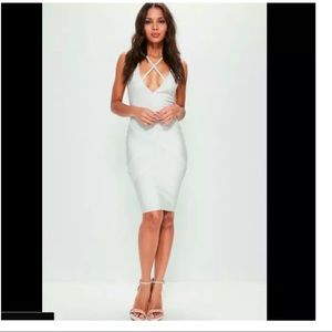 Missguided Premium  Bandage Harness Dress